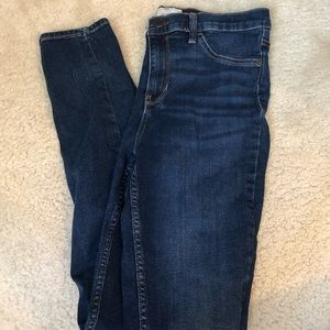 Dark Wash Free People Jeans